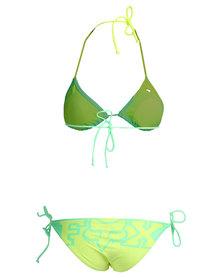 Fox Chroma Triangle Bikini Set Mint/Green