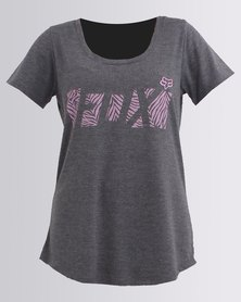 Fox Raced Scoop Short Sleeve T-Shirt Grey