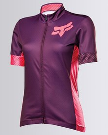 Fox Performance Switchback Jersey Plum