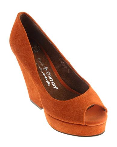 Friis & Company Birdie Heels Orange