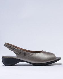 Froggie Hayley Heeled Shoes Lead Pearl
