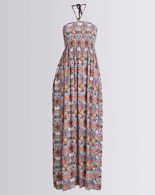 G Couture Boob-tube Maxi Dress Multi