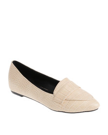 G Couture Apron Flat Nude