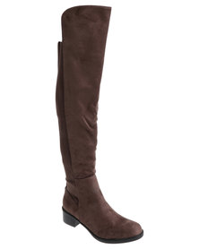 G Couture Rider Boot Brown