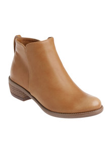G Couture Ankle Boot Brown