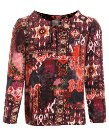 Game of Threads Gypsey Blouse Multi