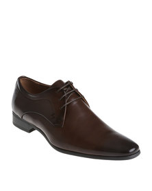 Gino Paoli Formal Lace Up Shoe Cognac
