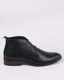 Gino Paoli Formal Lace Up Boot Navy