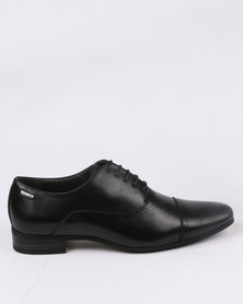 Gino Paoli Formal Toe Cap Lace Up Black
