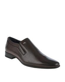 Gino Paoli Formal Slip On Shoe Brown