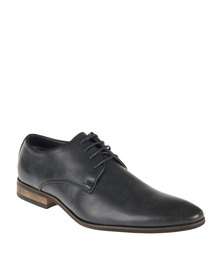 Gino Paoli Denim Formal Lace Up Shoe Navy