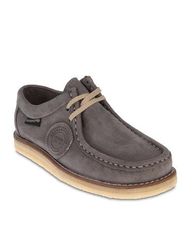 Men shoes formal shoes formal lace ups grasshoppers stilo shoes grey