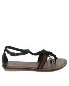 Grendha Boho Sandal Black