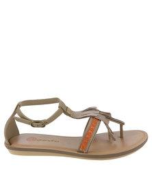 Grendha Boho Sandal Pewter