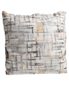 Grey Gardens Painted Squares Scatter Cushion Multi