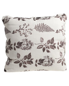 Grey Gardens Earth Guild Scatter Cushion Brown