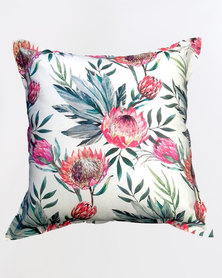 Grey Gardens King Protea Scatter Cushion Multi