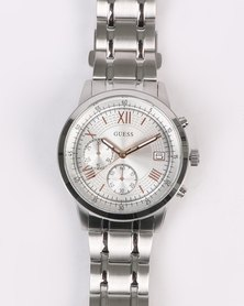 Guess Summit Strap Watch Silver-tone