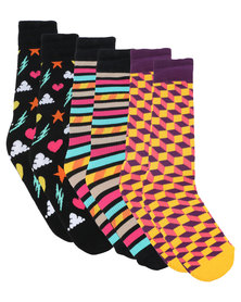 Happy Socks Athletic Gift Box Multi
