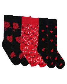 Happy Socks Valentine's Gift Box Multi