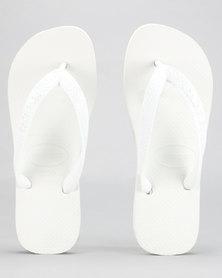 Havaianas Top Basic Flip Flops White