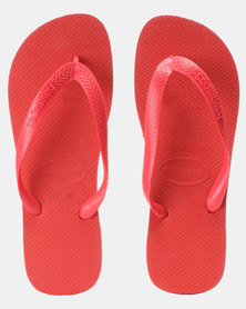Havaianas Top Basic Flip Flops Ruby Red