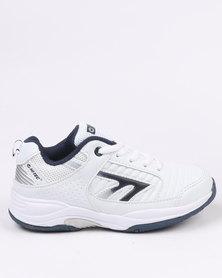 Hi-Tec Tour Junior Sneakers White & Blue