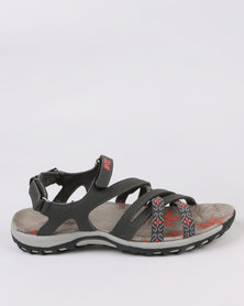 Hi-Tec Ansellia Cross Strap Grey
