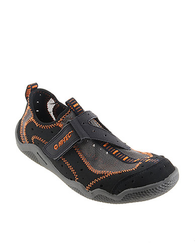 Tec Avon Mens Aquatic Shoe Navy & Graphite & Burnt Orange