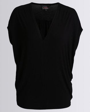 Hip Shop To The Moon And Back Top Black