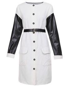 Ilan Norway Coat White