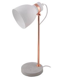 Illumina Concrete Base Lamp White