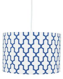Illumina Geometric Shade Pendant Royal Blue