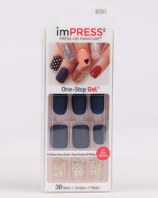 Impress Broadway Artificial Nails Bells & Whistles Multi