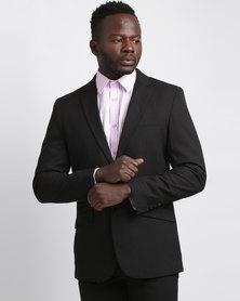 JCrew 2 Button Suit Jacket Longer Sleeve Length Black