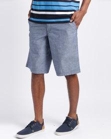 JCrew Charmbray Shorts Blue