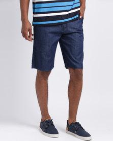 JCrew China Blue Denim Shorts Indigo