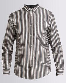 JCrew Multi Stripe Long Sleeve Shirt Multi