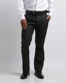 JCrew Fancy Flat Front Trousers Black
