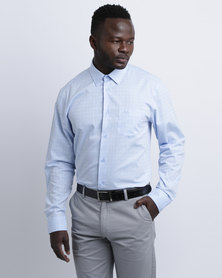 JCrew Self Check Shirt Blue