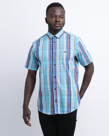 JCrew Check Short Sleeve Shirt Multi