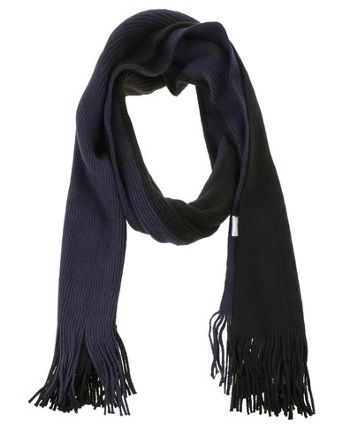 JCrew Scarf Grey/Blue