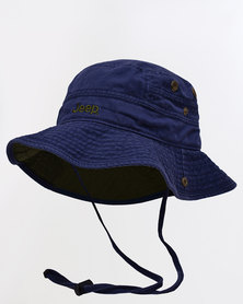 Jeep Widebrim Hat Blue