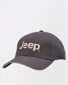 Jeep Basic Peak Cap Smoke