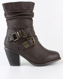 Jeep Harmony Mid Boots Brown