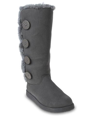 Cool New Womens JEEP MOUNTAINEER Trail J41 Winter Boots Vegan BLACK Nib