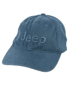 Jeep Pigment Embroidered Cap Blue