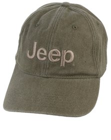 Jeep Pigment Embroidered Cap Olive