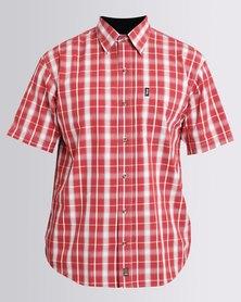 Jeep Short Sleeve Check Shirt