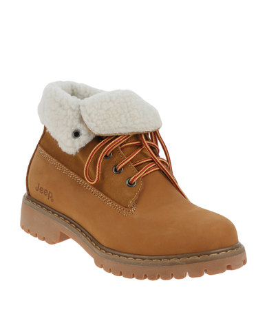 Elegant  Famous Name Brand Too Jeep Women US 7 Brown Ankle Boot Pre Owned 1553